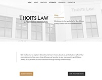 Web Design for a Silicon Valley Law Firm