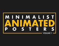 minimalist animated posters