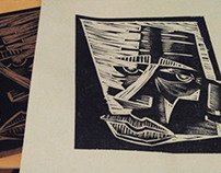 Linocuts and Woodcuts