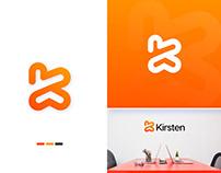 Kirsten - Personal Branding Logo Design