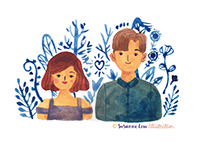 Couple / Family Portrait Painting