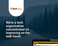 dealtrips.in (Website I App I Branding)