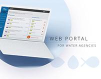 Web portal - website conception UX/UI