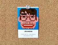 Pixel ID Card