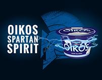 Danone Oikos - Brand Identity