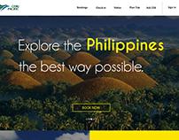 Cebu Pacific Website Redesign.