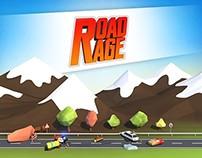 Road Rage 3D -  Landing Page Design