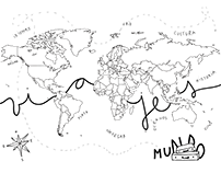 mapamundi viajero