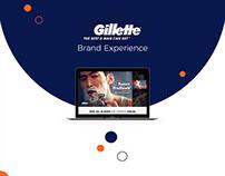 Gillette Brand Page