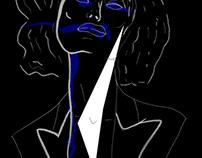 Illustrations - Bleu nuit, non sexuel