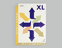 XL stamp for Dutch PostNL