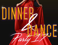 Dinner & Dance - Digital Poster