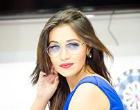 Blue Model Photography