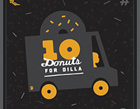 10 Donuts for Dilla