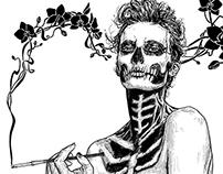 Black & White Illustrations 2014