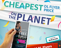 Cheapest DL Flyer Price On The Planet Campaign for HPP
