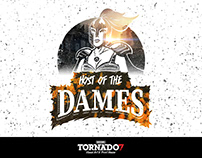 Host Of The Dames aka H.O.T Dames Event Identity Design