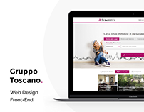 Toscano.it - Web Design and Front-End Development