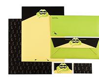 LizViz Logo and Stationery Package