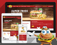 Lanchão - Responsive Website