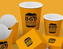 Branding 869 Burguer Food Truck
