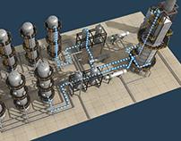 Gas&Oil Refining Demoreel
