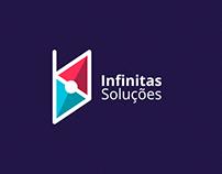 Infinitas Soluções - Logo Design