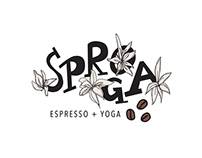 SPROGA - Logo Design