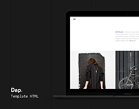 Dap - Creative MultiPurpose HTML Template