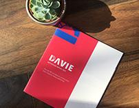Brochure corporative et logo pour la Davie