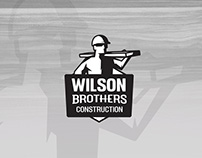 Wilson Brothers Construction - Branding