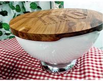 TIMO salad bowl