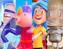3D Characters V9