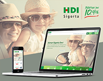 HDI Insurance Web Site