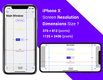 iPhone x Screen Resolution Dimensions