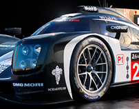 Porsche 919 Hybrid Le Mans Concept | CGI