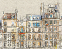 Architectum 3 - Archi Sketcher Photoshop Action
