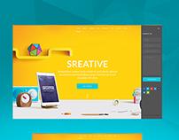 Sreative | Multi-Purpose Creative Template
