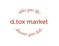 d.tox market - BRANDING / SITE DESIGN & PUBLISHING