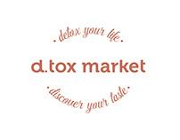 d.tox market - BRANDING / SITE DESIGN & PUBLISHING