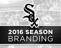 Chicago White Sox 2016 Season Branding