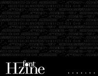 Hzine Font
