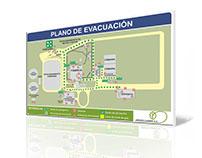 Planos de evacuación para ArgentiLemon