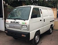 Xe bán tải Suzuki Blind Van tại Hải Phòng