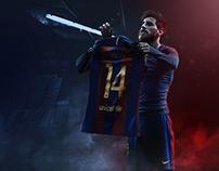 14 Goal | Messi in Santiago Bernabéu Stadium
