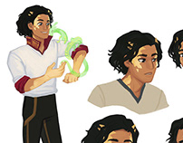 Character Explorations & Designs