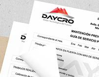 Guías / Formularios [Daycro]