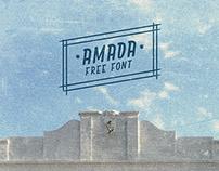 Amada - Typeface