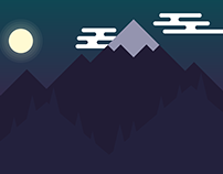 Night in the Mountains