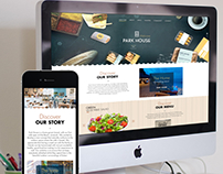 PARK HOUSE / Website